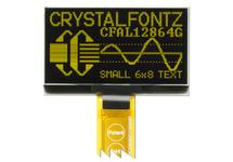 128x64 Yellow Graphic 2.4 inch OLED CFAL12864G-024Y