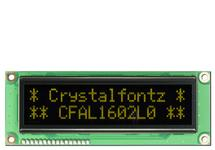 16x2  Parallel Character OLED CFAL1602L0-Y