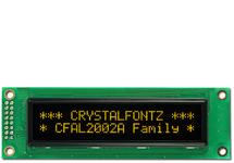 20x2  Parallel Character OLED CFAL2002A-Y