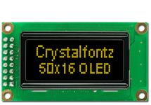 50x16 SPI Graphic OLED Display CFAL5016A-PY