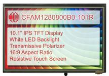 "10.1"" HDMI Resistive Touch TFT LCD CFAM1280800B0-101R"