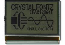 Thin 128x64 SPI Graphic LCD CFAX12864T-NFH