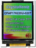 CFAF176220U-020T Unmodified as the camera perceives the display