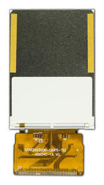 Back view of 240x320 TFT LCD