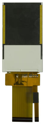 240x400 IPS TFT LCD, back view.