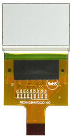 128x64 Graphic LCD, back view