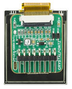 125x152 3-color ePaper module with CFA10082 ePaper adapter board (shown attached to adapter board)