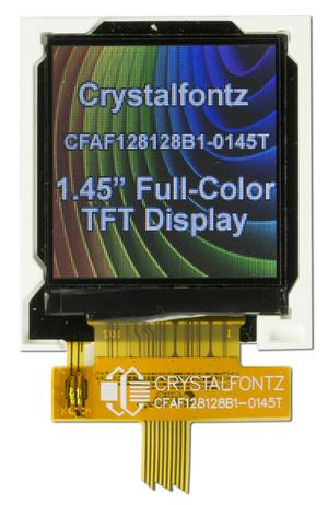 128x128 1.45 inch Full Color TFT LCD Display (CFAF128128B1-0145T)