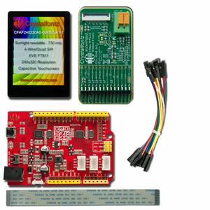 "2.4"" EVE Touchscreen TFT Development Kit (CFAF240320A0-024SC-A1-2)"