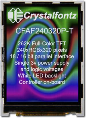 240x320 Parallel Color TFT (CFAF240320P-T)