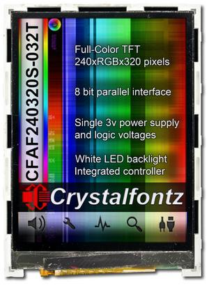 240X320 Parallel Color TFT (CFAF240320S-032T)