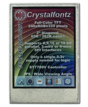 2 inch 240x320 Color IPS TFT (CFAF240320W-020T)