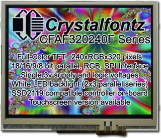 320x240 1 Parallel Color TFT (CFAF320240F-T-TS)