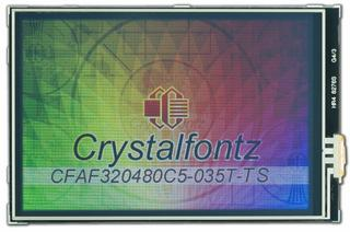 "320x480 3.5"" Touch Screen Color TFT (CFAF320480C5-035T-TS)"