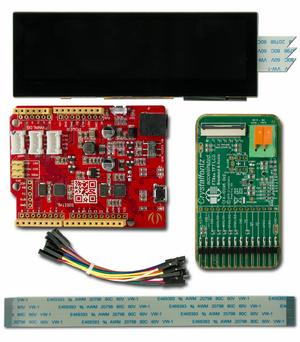EVE Bar-Type TFT Development Kit (CFAF480128A0-039TC-A1-2)