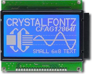 128x64  Parallel Graphic LCD (CFAG12864I-TMI-TN)