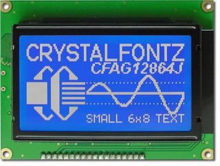 128x64  Parallel Graphic LCD (CFAG12864J-TMI-TT)