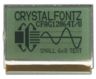 128x64 Transflective Graphical LCD (CFAG12864T2-NFH)