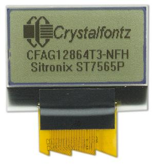 Small Transflective Graphic LCD (CFAG12864T3-NFH)