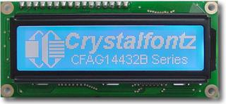 144x32  Parallel Graphic LCD (CFAG14432B-TMI-TT)