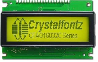 160x32 Sunlight Readable Graphic LCD (CFAG16032C-YYH-TT)