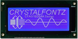192x64 Parallel Graphic LCD (CFAG19264A-TMI-TN)