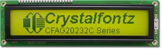 Sunlight Readable 202x32 Graphic LCD (CFAG20232C-YYH-TT)