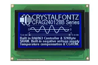 240x128  Parallel Graphic LCD (CFAG240128B-TTI-TZ)