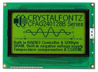 240x128 Sunlight Readable Graphic LCD (CFAG240128B-YYH-TZ)
