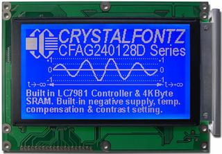 240x128  Parallel Graphic LCD (CFAG240128D-FMI-T)