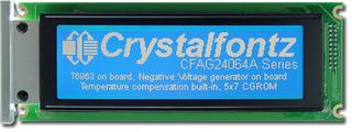 240x64  Parallel Graphic LCD (CFAG24064A-FMI-TZ)