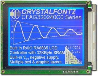 320x240  Parallel Graphic LCD (CFAG320240C0-FMI-TZ)