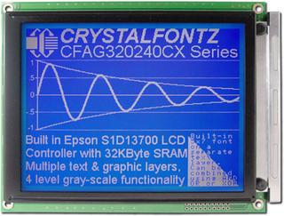 320x240  Parallel Graphic LCD (CFAG320240CX-FMI-T)