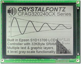 Sunlight Readable 320x240 Graphic LCD (CFAG320240CX-TFH-T)