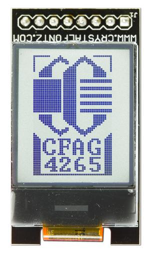 One Inch LCD on Carrier Board (CFAG4265A0-TFK-E1-1)