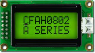 8x2  Parallel Character LCD (CFAH0802A-GGH-JP)