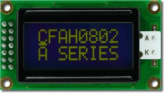 8x2  Parallel Character LCD (CFAH0802A-YMI-JP)