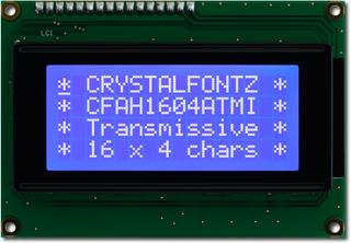 16x4  Parallel Character LCD (CFAH1604A-TMI-JT)