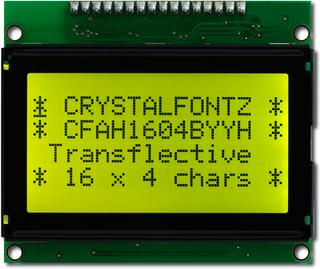 16x4  Parallel Character LCD (CFAH1604B-YYH-ET)