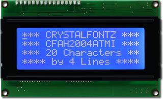 20x4  Parallel Character LCD (CFAH2004A-TMI-JT)