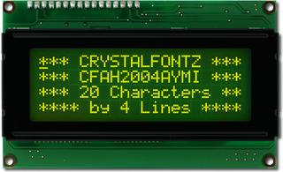 20x4  Parallel Character LCD (CFAH2004A-YMI-JT)