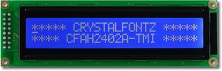 24x2  Parallel Character LCD (CFAH2402A-TMI-JT)
