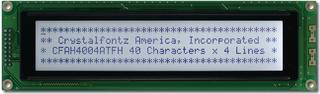 40x4 Character LCD Dark on Gray (CFAH4004A-TFH-JT)