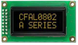 8x2 Character OLED (CFAL0802A-Y)