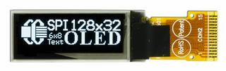 128x32 Small Graphic OLED Display (CFAL12832B-0091P-W)