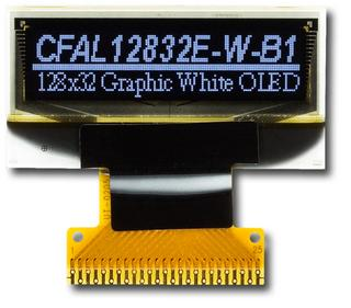 128x32  Parallel Graphic OLED (CFAL12832E-W-B1)