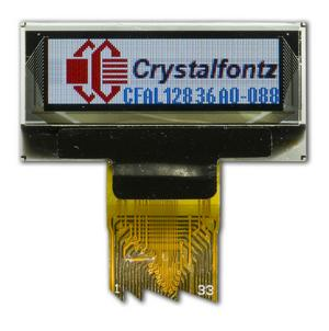 128x36 Color OLED Display Module (CFAL12836A0-088)