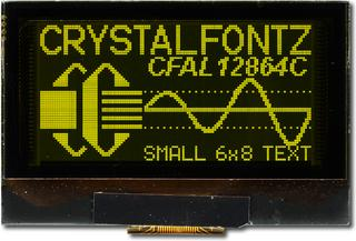 128x64 Graphic OLED Display (CFAL12864C-Y-B1)
