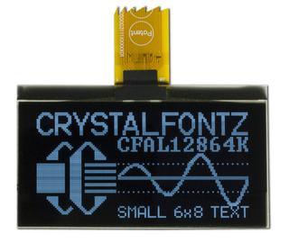 128x64 White Graphic OLED Display (CFAL12864K-W)