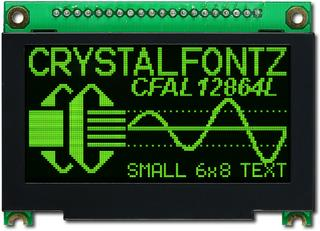 128x64  Parallel Graphic OLED (CFAL12864L-G-B2)